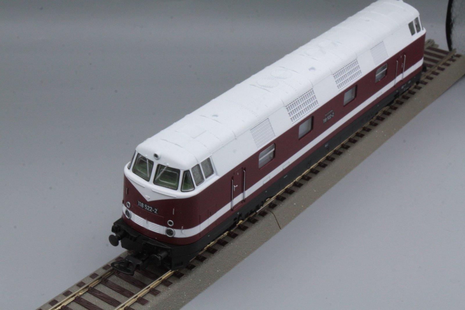 Piko 59560 Diesellok 118 522-2 Spur H0 - digital (D&H) mit Sound (Henning-Sound)