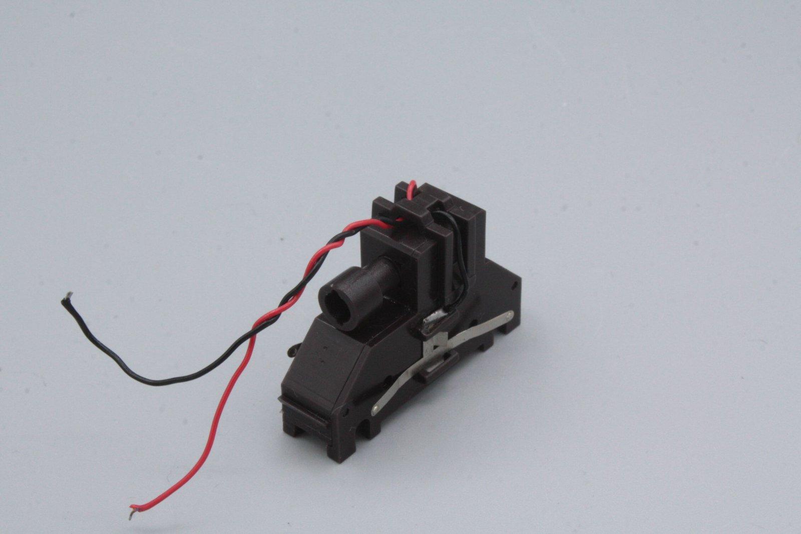 Ersatzteil Piko 218 Getriebe braun Variante 1 für gerade Blende