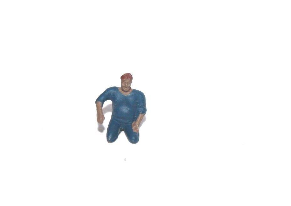 Ersatzteil Piko H0 Lokführer - Figur - für div. Loks - sitzend Elokführer - blau