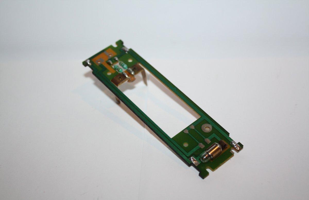 Ersatzteil Roco H0 215 / 218  Hauptplatine ohne NEM-Buchse mit Glühlampe