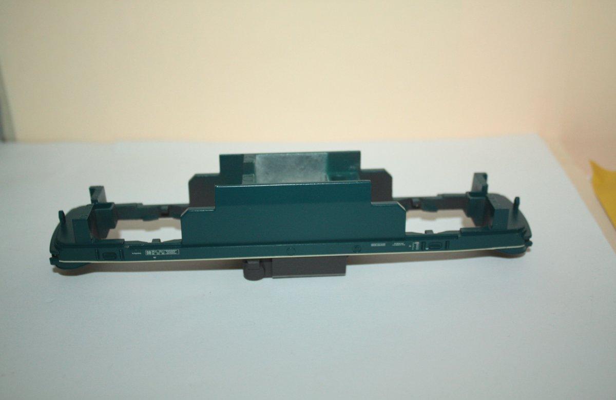 Ersatzteil Piko 218 Rahmen blau /beige (ohne Nummer) Tank braun