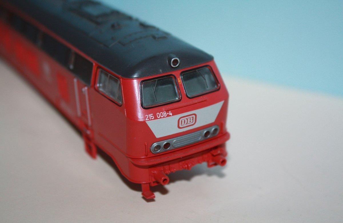 Ersatzteil Roco Gehäuse 215 008-4 orientrot mit LATZ DB