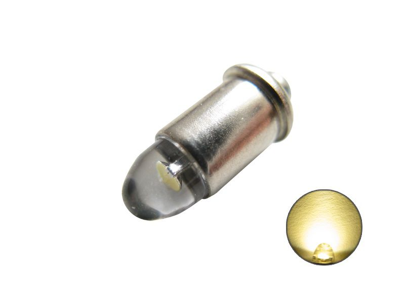 LED Leuchtmittel 600000 MS4 Steckfassung warmweiß 12V bis 22V