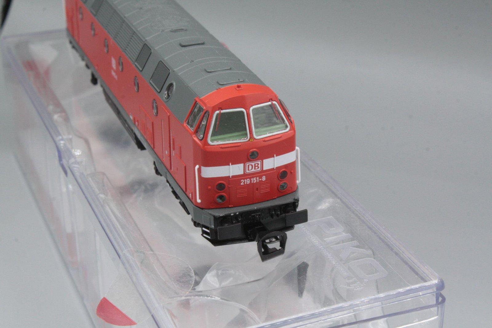 Piko 47341 Diesellok 119 151-8 Spur TT - digital (D&H) mit Sound (Henning-Sound)