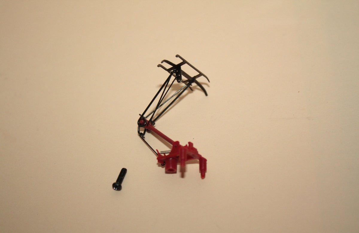 Piko 56156 H0 Stromabnehmer 182 185 189 146 ICE  rot/brüniert Ersatzteil Taurus