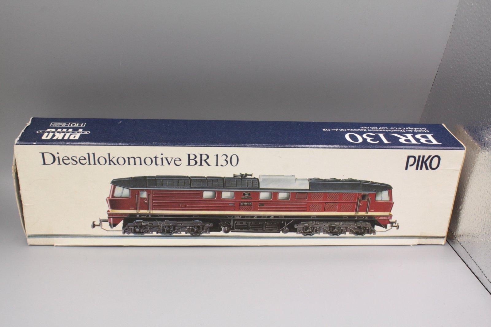 Ersatzteil Piko 130  Leerverpackung - Piko blau / weiß