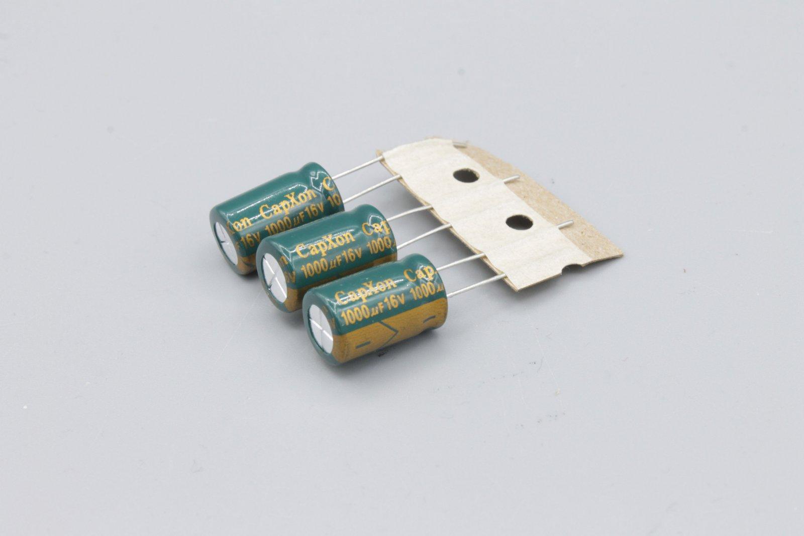 Elko 1000µ 16V radial RM 5