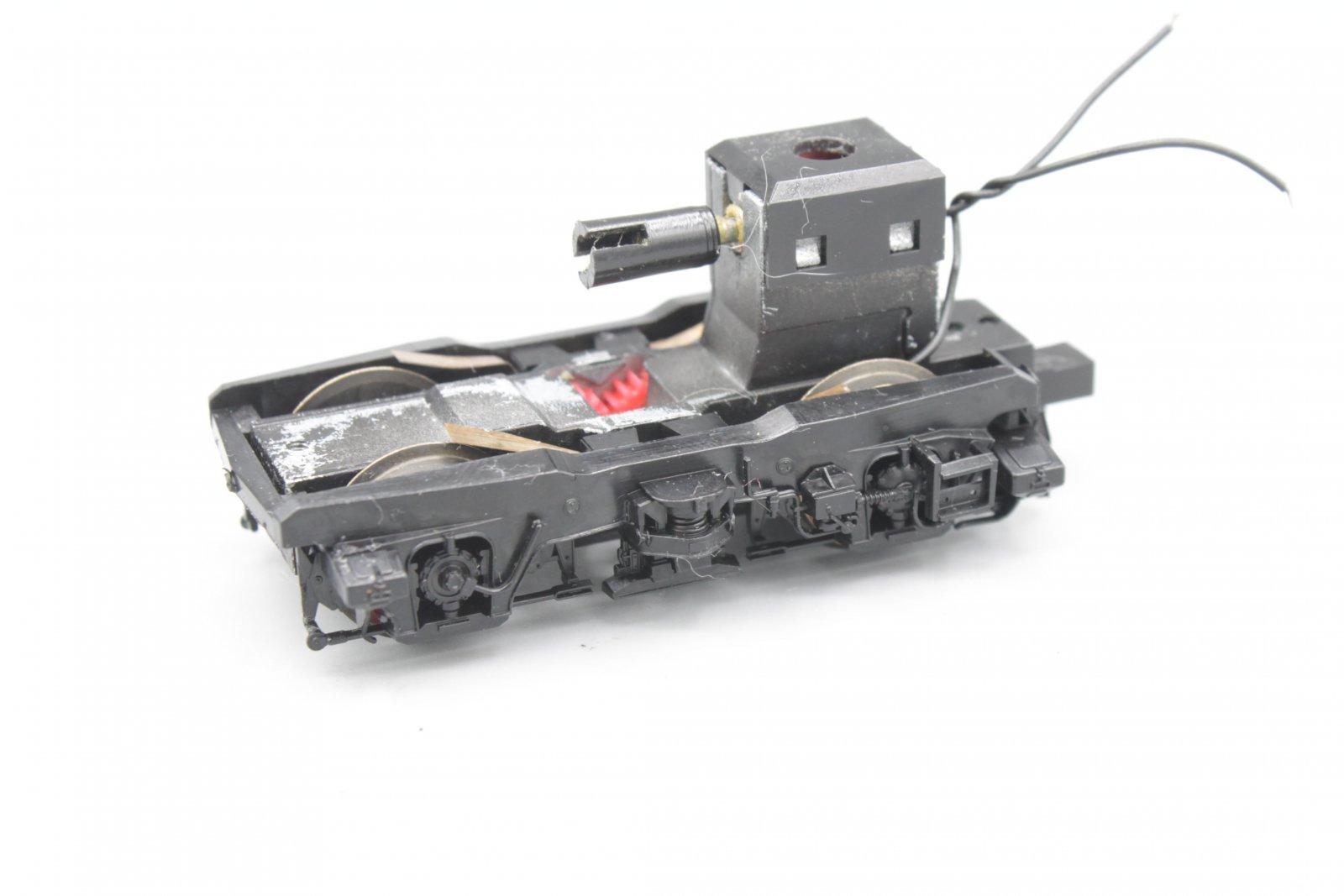 Ersatzteil Roco 110 / 140 Drehgestell schwarz - komplett