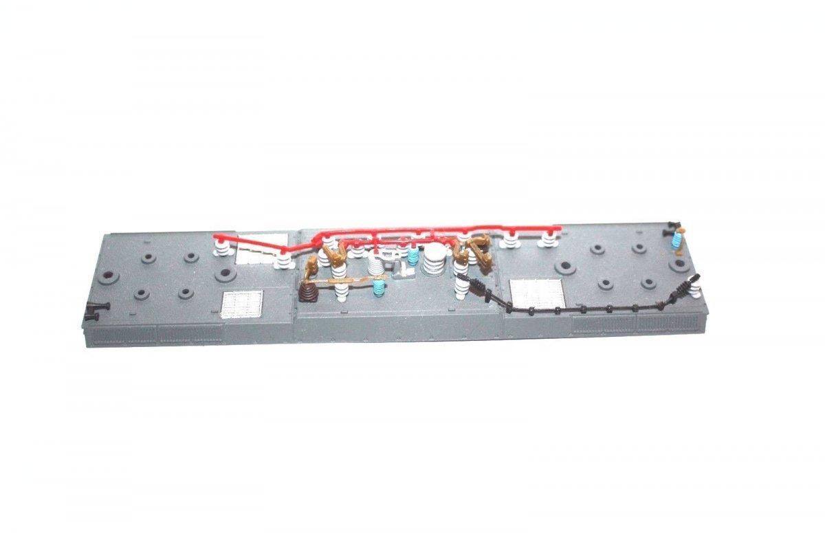 Ersatzteil Piko H0 189 Dach grau + Dachleitungen + Isolatoren ohne Pantos