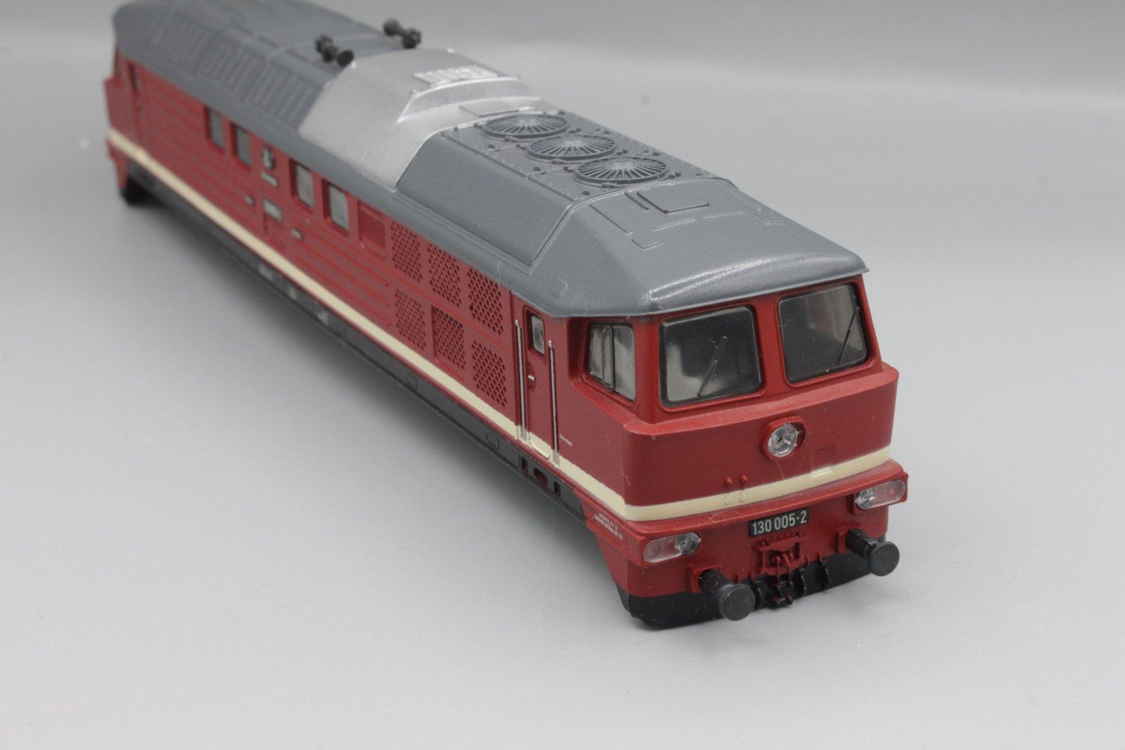 Ersatzteil Piko 130 Gehäuse 130 005-2 DR - Piko H0 (DDR)- rote Schürze