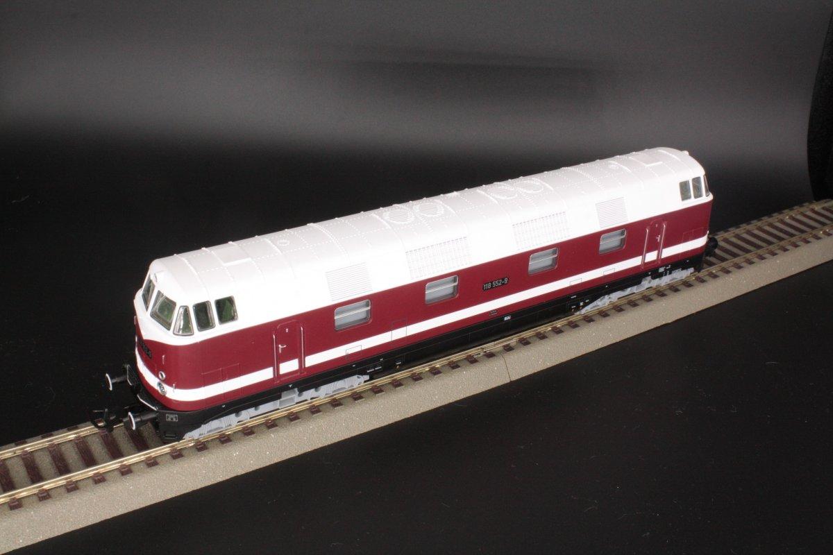 Piko 59568 Diesellok 118 552-9 Spur H0 - digital (D&H) mit Sound (Henning-Sound)