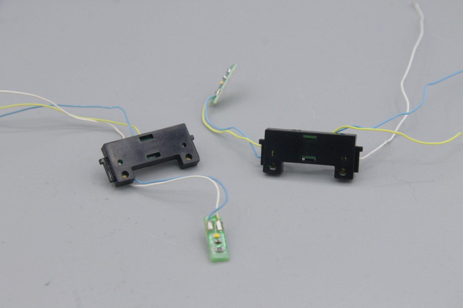 Ersatzteil Piko H0 118 Beleuchtungsplatine mit Abdeckung 1Paar/ 2 Stück