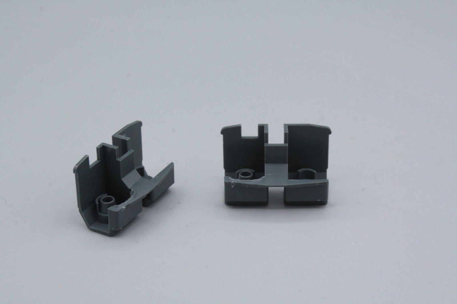 Ersatzteil Roco 140 Führerstandseinrichtung - 2 Stück / 1 Paar grau