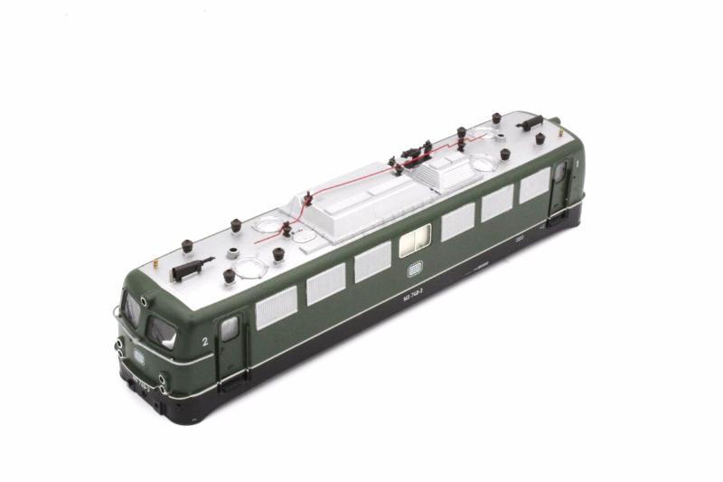 Ersatzteil Roco 140 749-3 Gehäuse DB grün