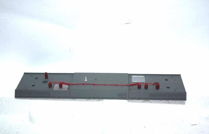 Ersatzteil Piko 185 Dach mit Dachleitungen