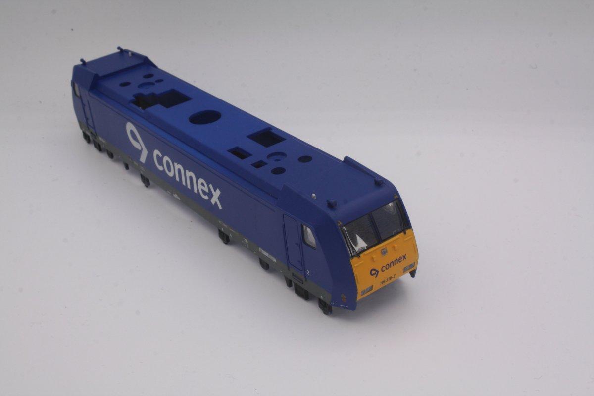 Ersatzteil Piko 185 Gehäuse 185 516-2 Connex blau/gelb