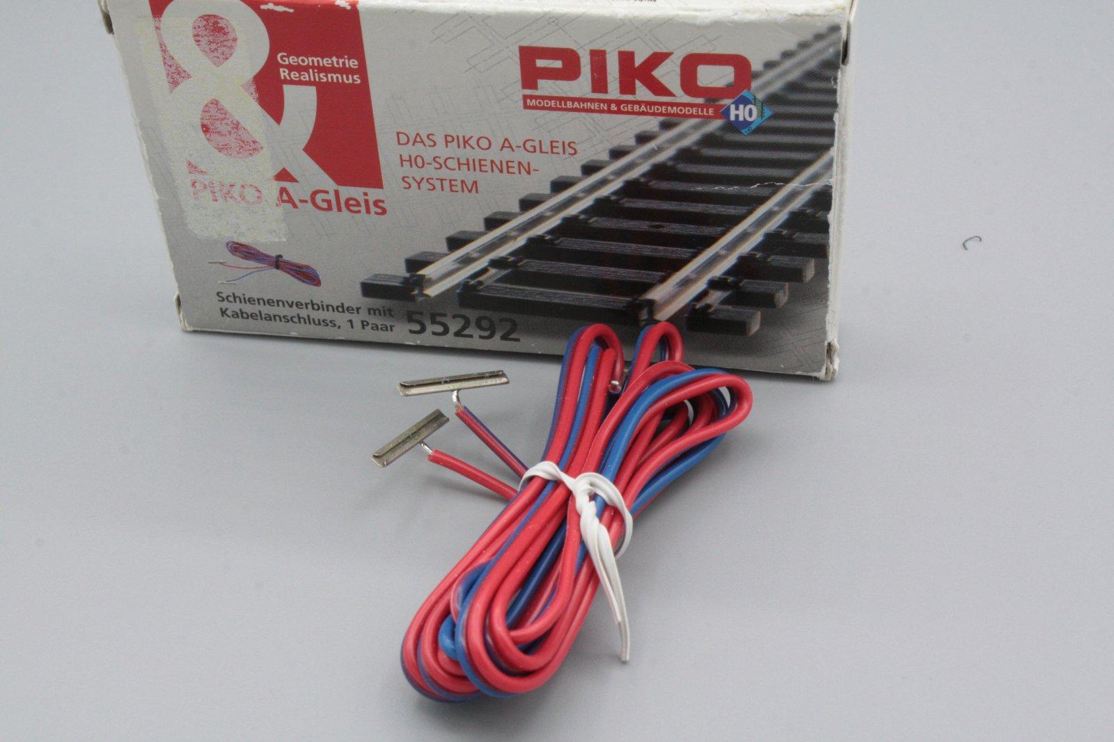 Piko 55292 Schienenverbinder mit Kabelanschluss - Packung mit Lagerungsspuren