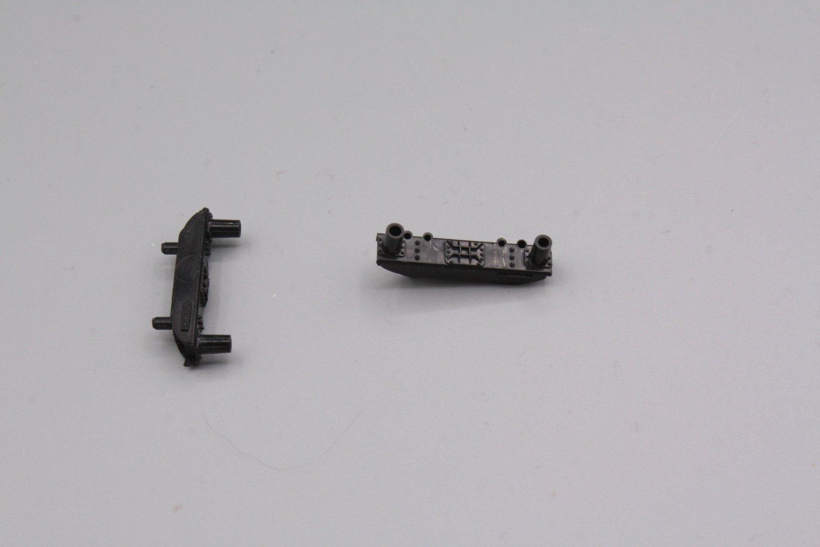 Ersatzteil Roco 140  Pufferbohle schwarz - 2 Stück - steckbar