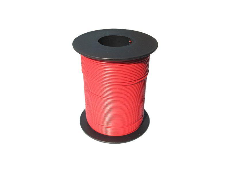 100 m LIY Kabel Litze rot 0,14 mm² flexibel Kupferlitze Schaltlitze