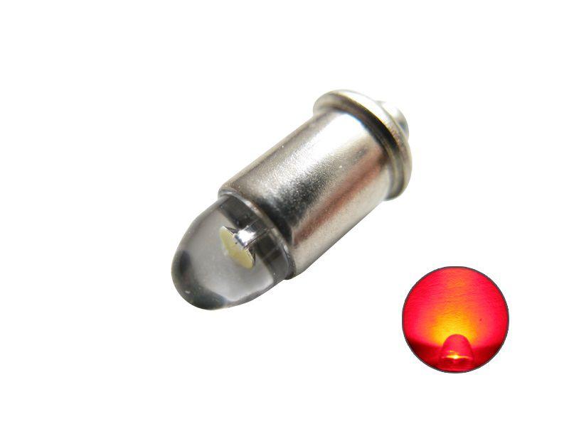 LED Leuchtmittel 600010 MS4 Steckfassung rot 12V bis 22V