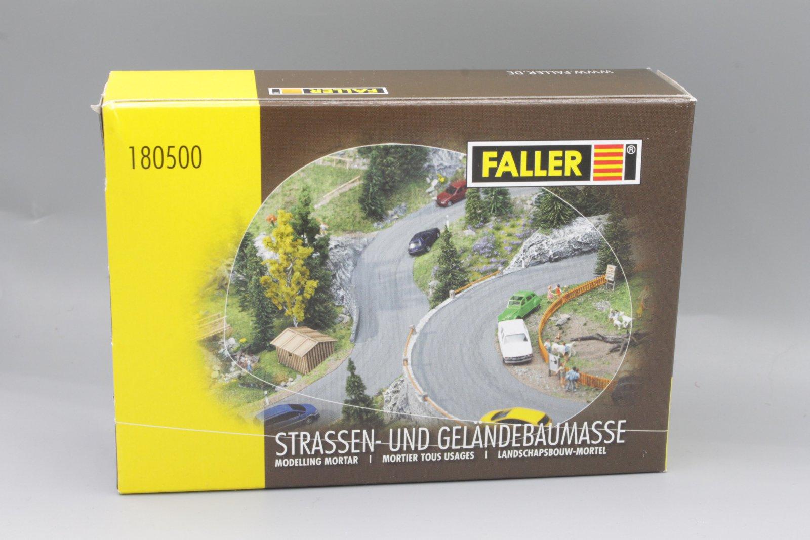 Faller 180500 Straßen und Geländebaumasse Neu & originalverpackt