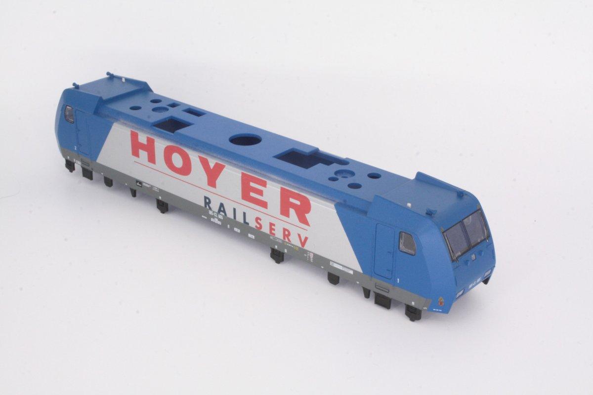 Ersatzteil Piko Gehäuse 185-CL-005 Hoyer RAILSERV blau/silber