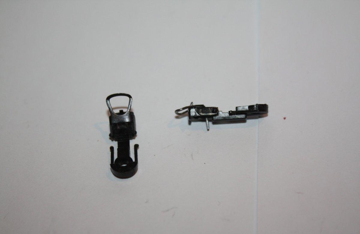Ersatzteil HO - 2 Lokkupplungen mit ÖSE - Standardkupplung / Roco