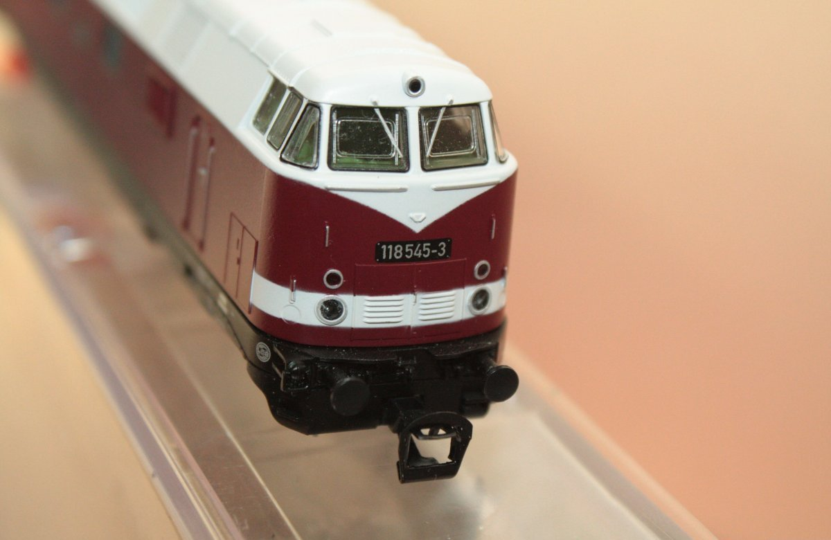 Piko 47283 Diesellok 118 545-3 Spur TT - digital (D&H) mit Sound (Henning-Sound)