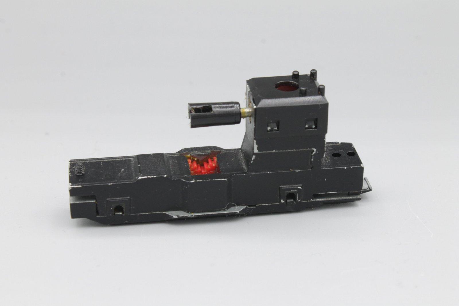 Ersatzteil Roco110 / 140 Getriebe Metallrahmen m. Zahnrädern Klammer u. Schnecke
