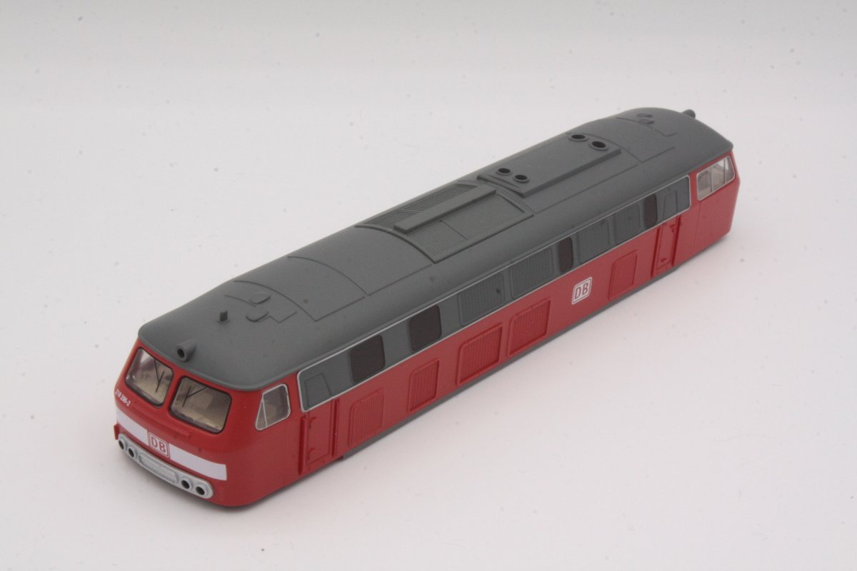 Ersatzteil Piko H0 218 296-2 Gehäuse verkehrsrot DB AG
