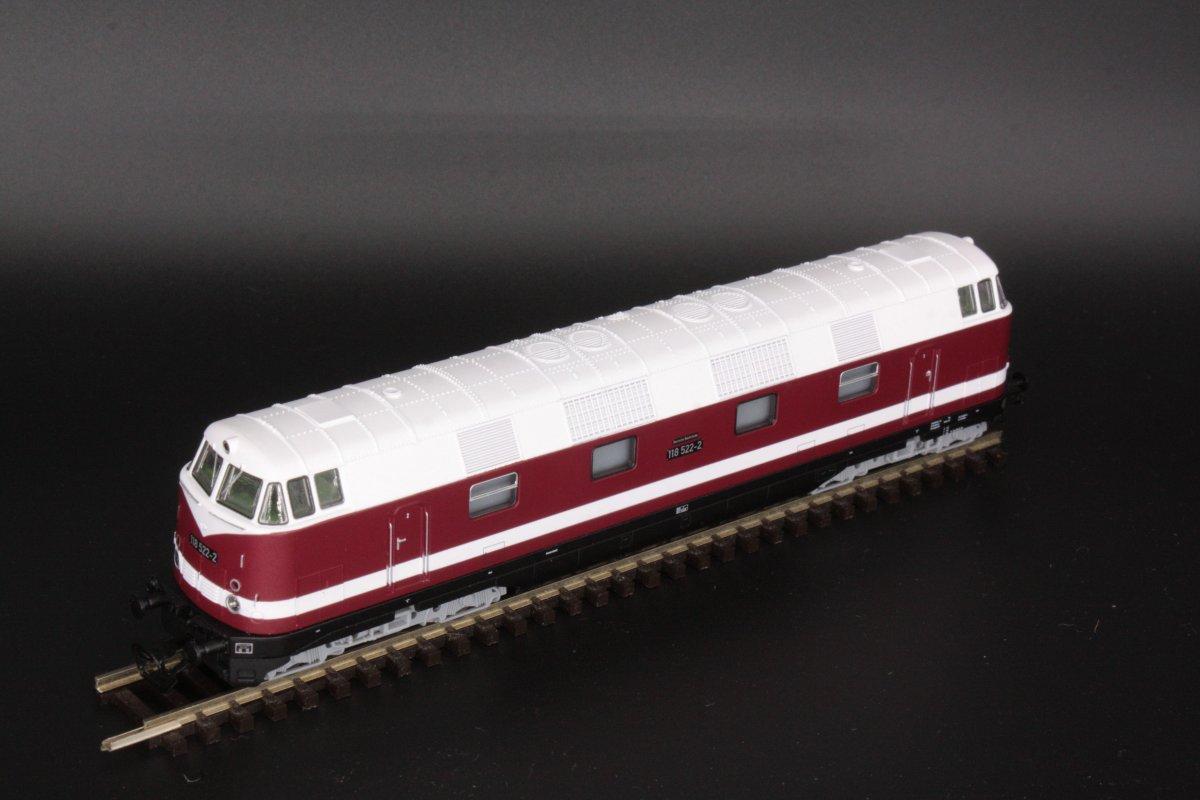 Piko 47280 Diesellok 118 522-2 Spur TT - digital (D&H) mit Sound (Henning-Sound)