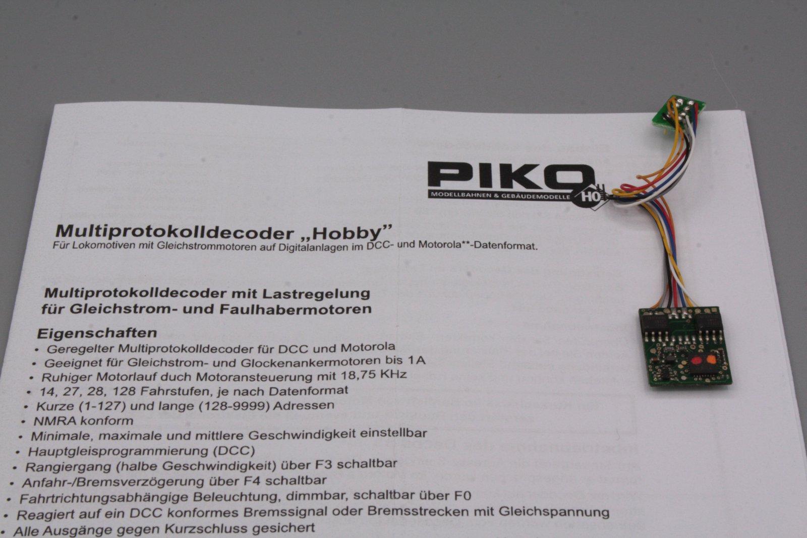 Piko 56122 Multiprotokolldecoder Hobby