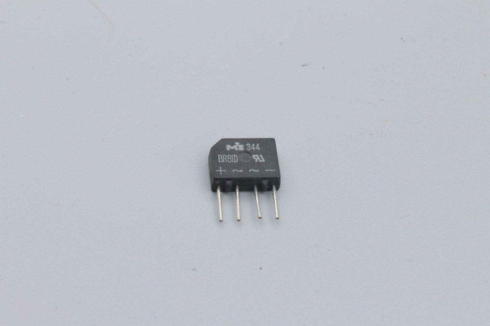 Brückengleichrichter BR81D 100V/2A