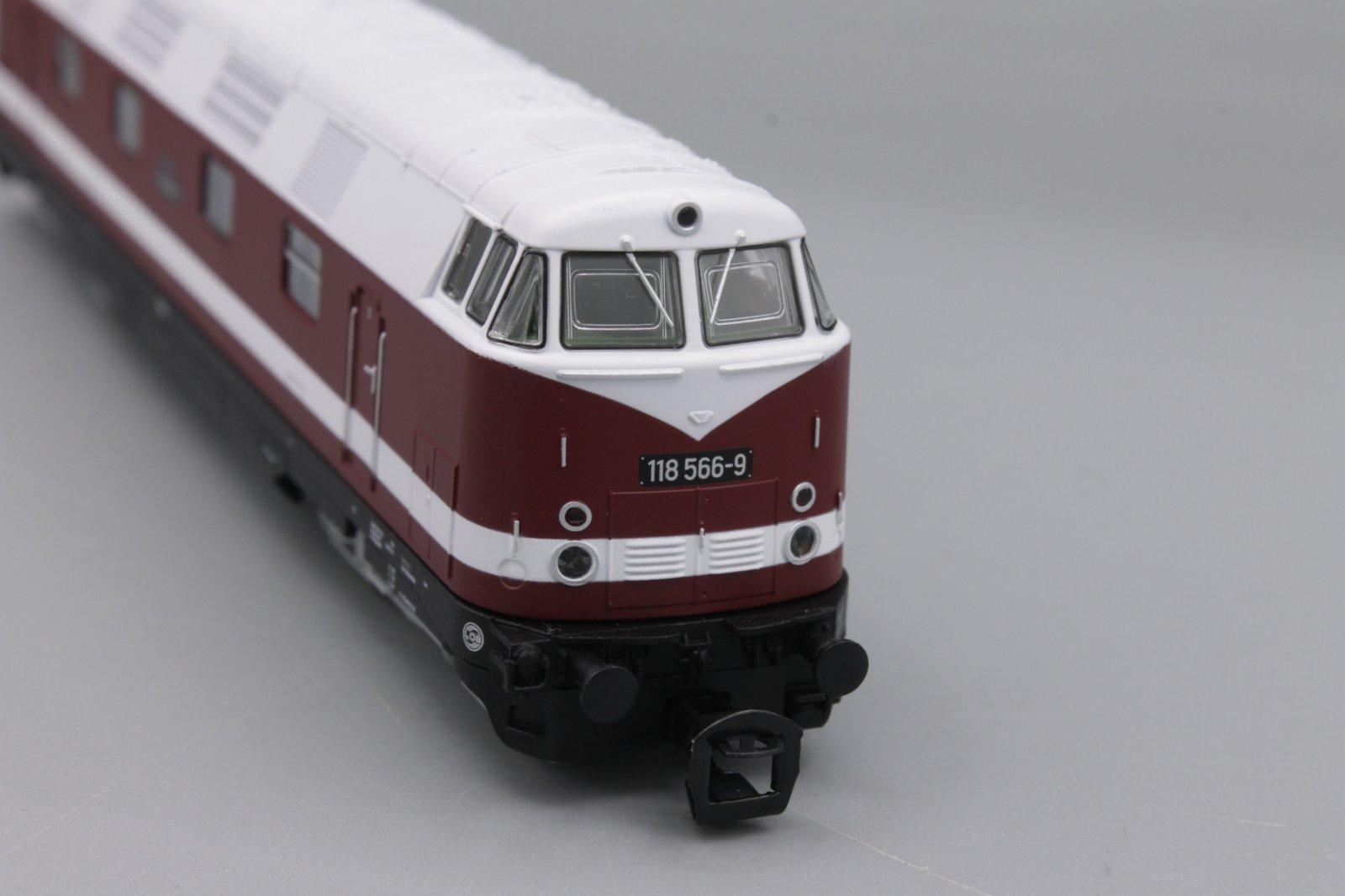 Piko 47280 Diesellok 118 566-9Spur TT - digital (D&H) mit Sound (Henning-Sound)