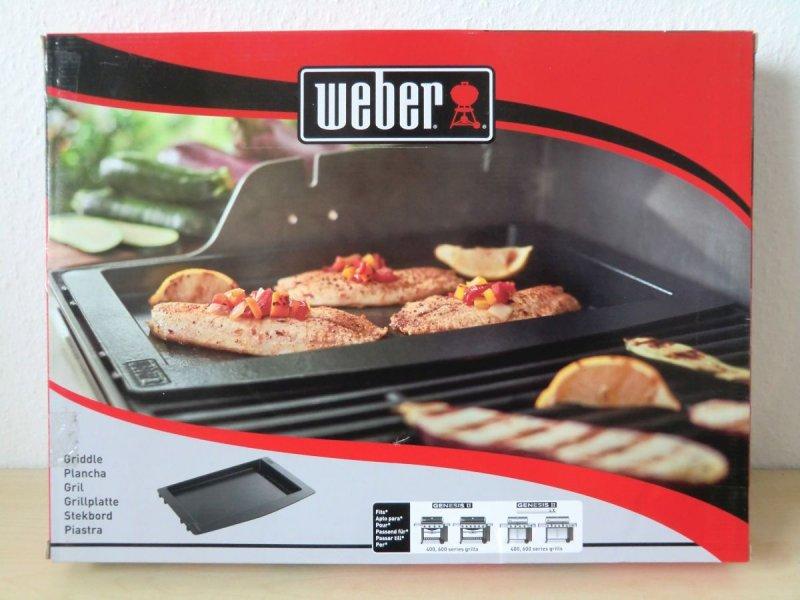 Weber Elektrogrill Grillplatte : Weber backblech bbq grill für genesis serie