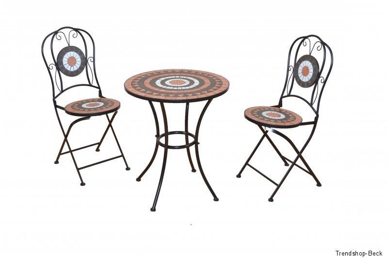 Bistroset 3 Tlg Balkonset Stühle Tisch Gartenmöbel