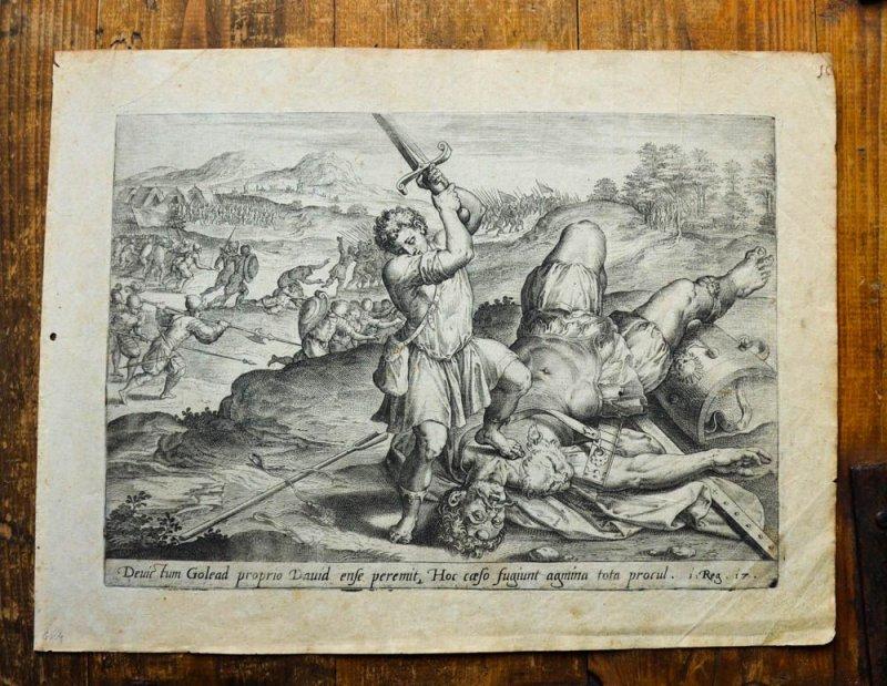 David Und Goliath Bibelstelle