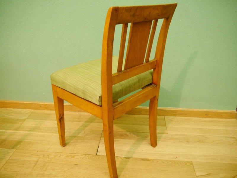 6er satz biedermeier empire st hle birke um 1815. Black Bedroom Furniture Sets. Home Design Ideas