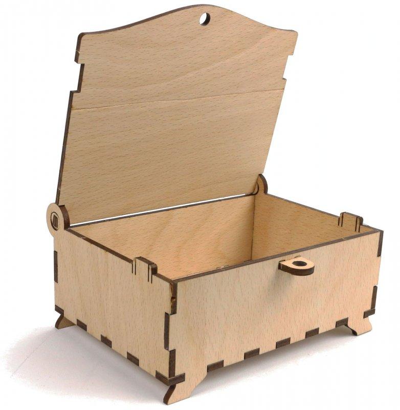 schatztruhe zum basteln holzbausatz basteltruhe 15cm rittertruhe mit wappen holz ebay. Black Bedroom Furniture Sets. Home Design Ideas