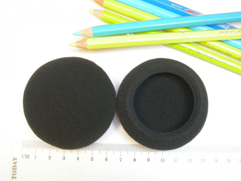 12 Pairs 20mm Schaumstoff Ersatz Ohrpolster Ohrpolster Abdeckungen für KopfhöBCD