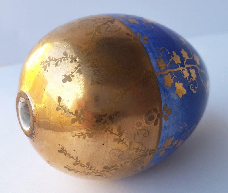 Russland 2019 Neuer Stil Porzellan Ei/ Osterei Handgemalt Um 1880-1890 Al1219