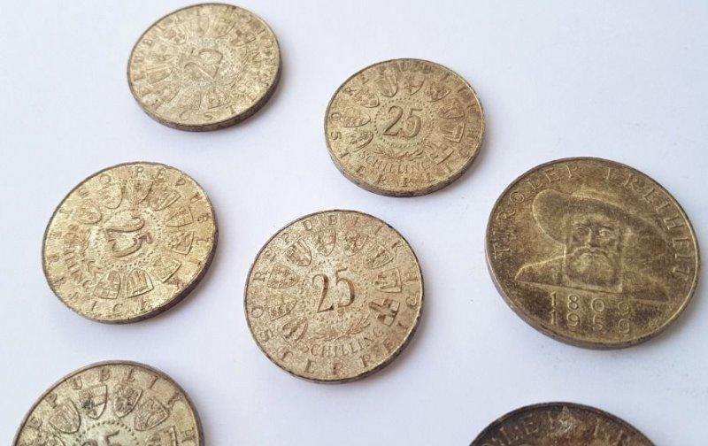 Sonstige Münzen Schilling Silber Al944 Antiquitäten & Kunst