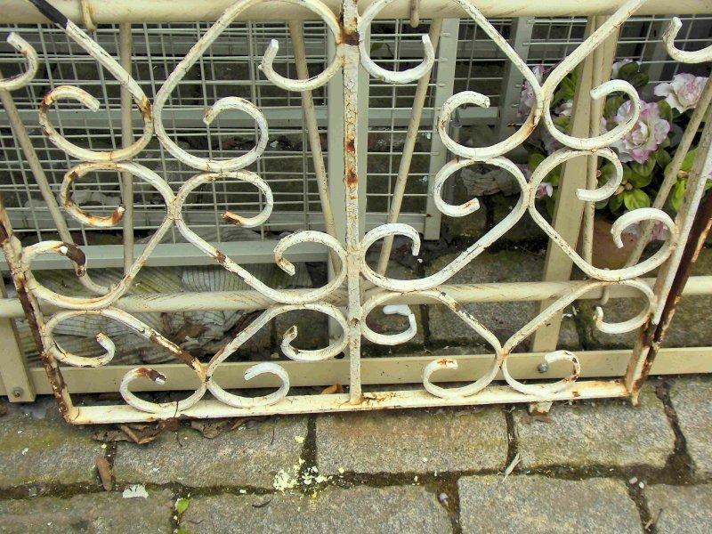 230 cm altes gel nder gartenzaun balkongel nder eisen zaun - Eisen gartenzaun ...
