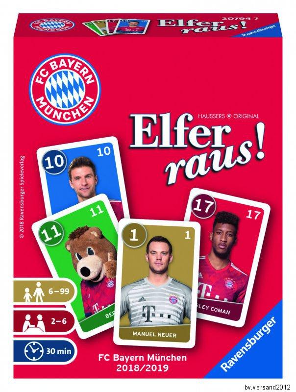 Ravensburger 20754 Elfer raus Kartenspiel Neu/&OVP