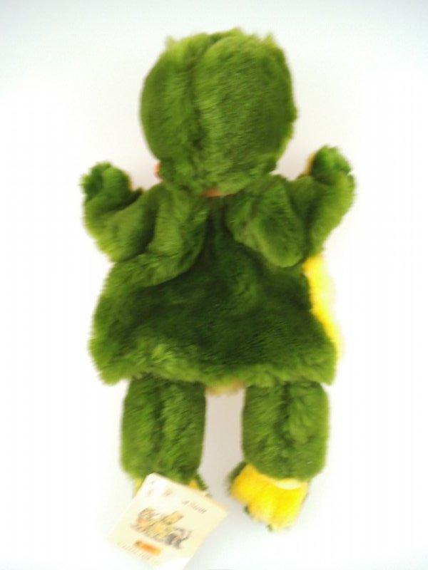 Steiff Steiff Handpuppe Happy Frosch 253782 1997-1999 komplett mit KFS 852