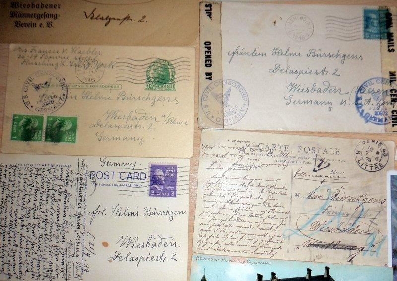 Briefe Schreiben Tablet : Ak briefe fotos nachlass einer familie a wiesbaden
