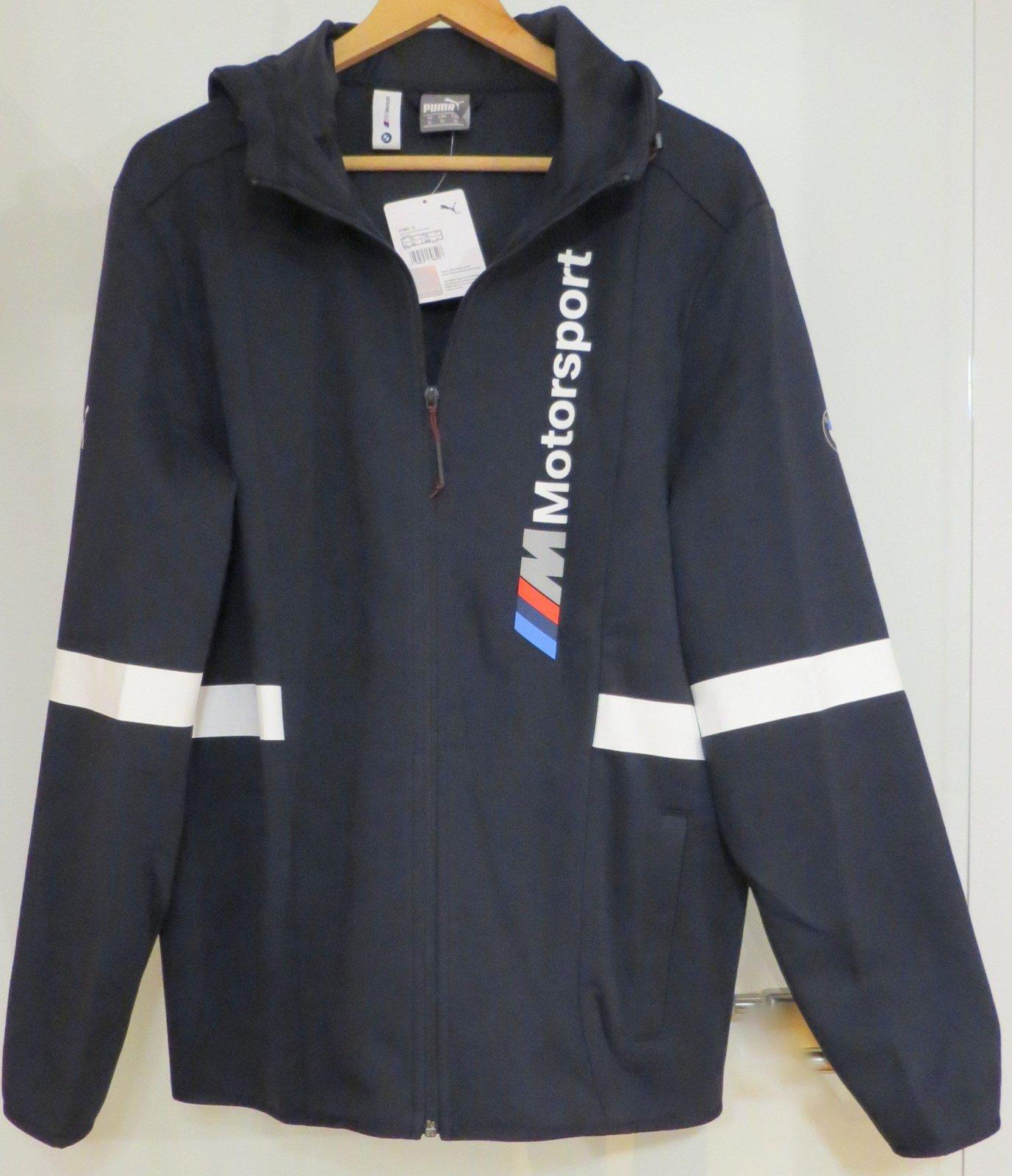 bmw m motorsport herren hoodie von puma original m. Black Bedroom Furniture Sets. Home Design Ideas