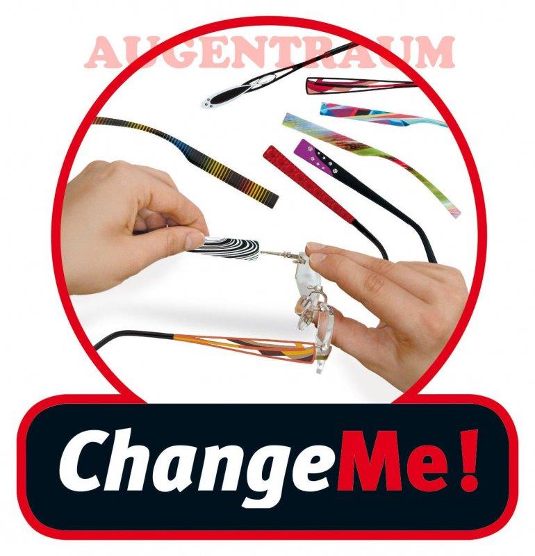 Change Me Wechselbugel 8656 1 Damen Kunststoff Brillenbugel Live Laugh Love Neu Ebay