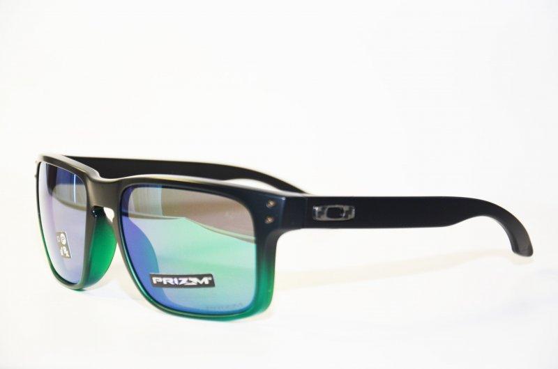 Oakley Holbrook Jade Fade Prizm Sonnenbrille Schwarz/Grün atlcbI