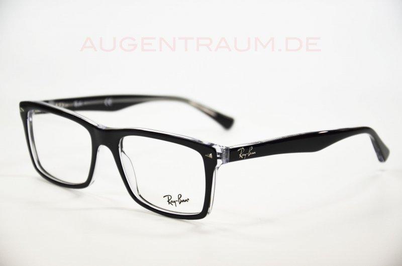 original ray ban 5287 2034 54 18 kunststoff schwarz brille. Black Bedroom Furniture Sets. Home Design Ideas